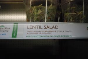 Lentil Salad from Brisk