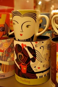 Mugs with style by Galerie Vanlian!