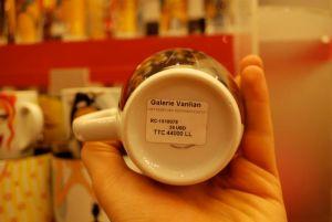 My Darling mugs by Galerie Vanlian!