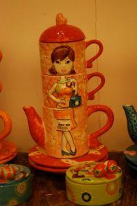 stylish coffee set by Galerie Vanlian!!