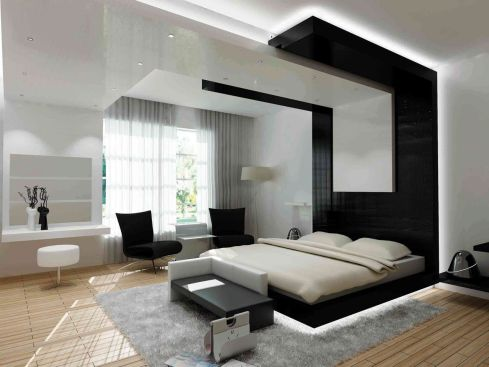 Modern bedroom by Galerie Vanlian!