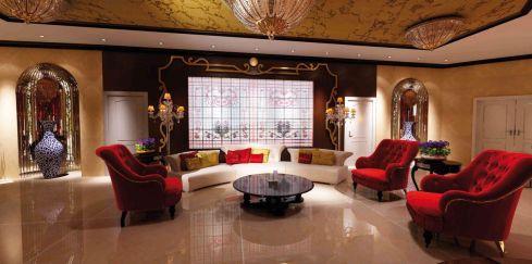 Wonderful living rooms by Galerie Vanlian!