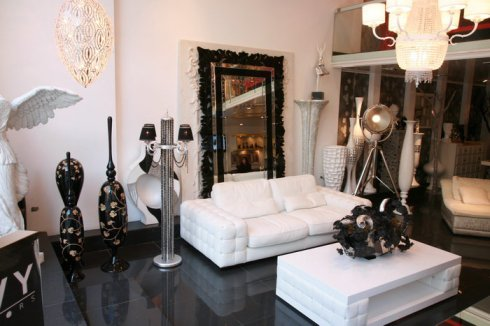 White living Room, by Envy Interiors, Vick Vanlian, Galerie Vanlian