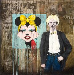 15 Minutes,2011, 117*117cm, @ Envy Interiors, Galerie Vanlian and Vick Vanlian