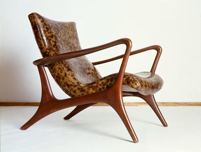 Beech frame upholestered rubberised Chair