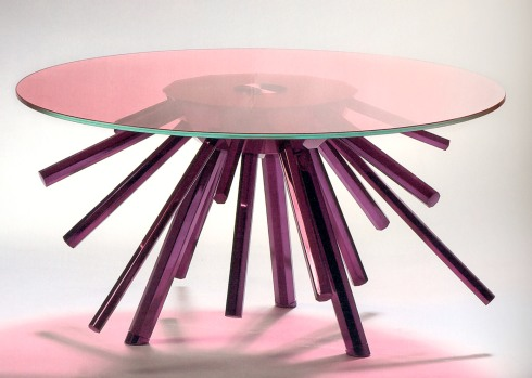 Sunburst Coffee Table by Versace