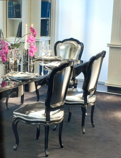 Dotenko Armchair + Berenice Desk (Versace)