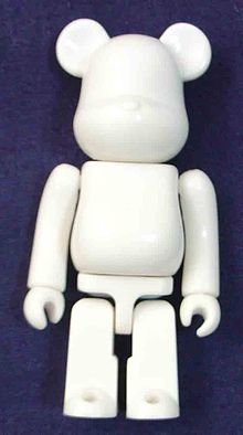 A Plain Bearbrick Figurine