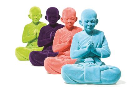 Velvet Buddha Deco Figurines
