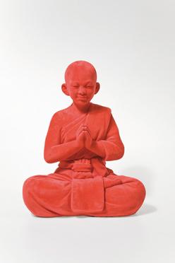 Velvet Red Buddha