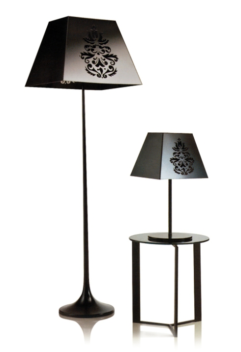 Luccia: Floor and table lamps from our glamour collection.