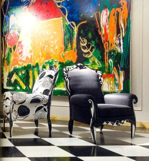 Salomè armchair (Versace)