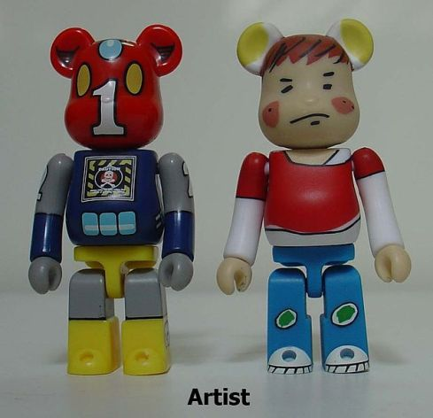 Bearbricks configured by Artists