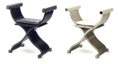 Jacobian chairs (Versace)