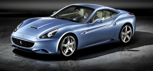 Ferrari California in Blue