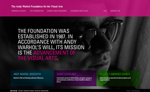 The Warhol Foundation for the Visual Arts