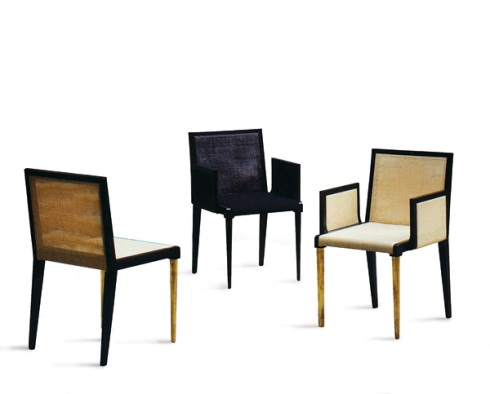GK: Dining Chair with two arms one arm or no arm. Designed By Vanlian.