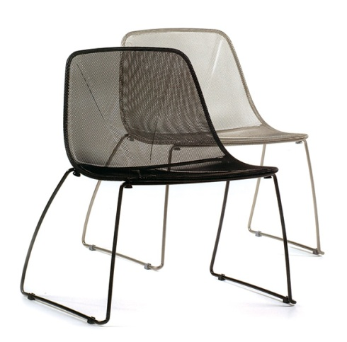 Skeleton Chair: Metal designed chair by Softline All Kit.