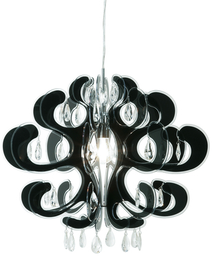 How about this black phantom hanging lamp?