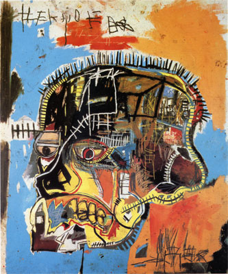 Untitled acrylic and mixed media on canvas by Jean-Michel Basquiat, 1984
