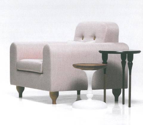 Elizabette: collection of two and three-seater and an armchair, elegant, refined and focused on the ideal of comfort