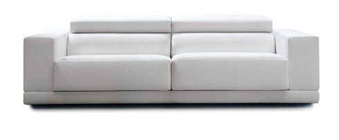 Heaven: The perfect sofa, pure modern and comfortable with adjustable headrest.