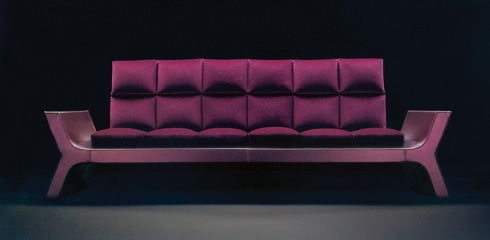 Sophie: Sit back relax and enjoy modernity on this unique sofa.
