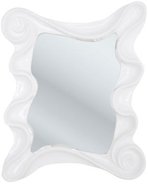 Mirror Wonderland White 130x105